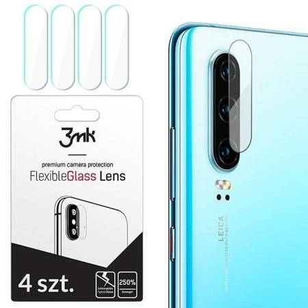 3MK FlexibleGlass Lens OnePlus 7 Szkło hybrydowe na obiektyw aparatu 4szt