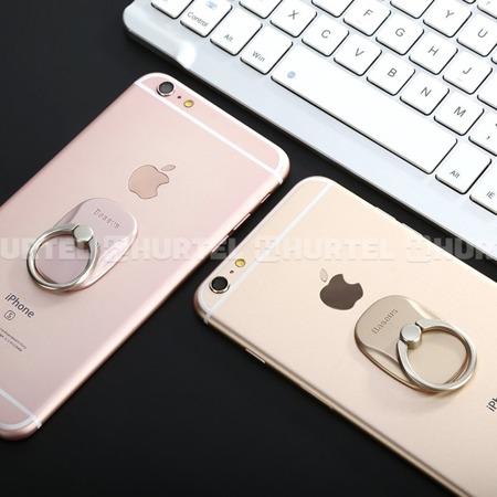 Baseus wielofunkcyjny uchwyt ring na telefon pierścień podstawka złoty (SUMR-0V)