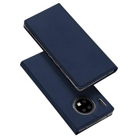 DUX DUCIS Skin Pro kabura etui pokrowiec z klapką Huawei Mate 30 Pro niebieski