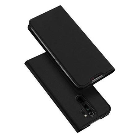 DUX DUCIS Skin Pro kabura etui pokrowiec z klapką Xiaomi Redmi Note 8 Pro czarny