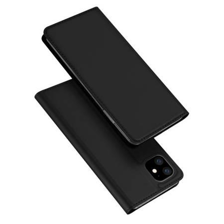 DUX DUCIS Skin Pro kabura etui pokrowiec z klapką iPhone 11 czarny