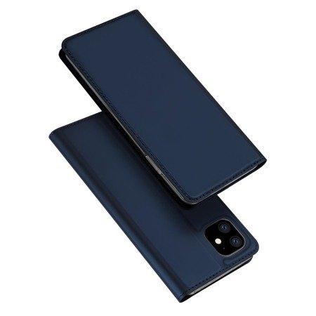 DUX DUCIS Skin Pro kabura etui pokrowiec z klapką iPhone 11 niebieski