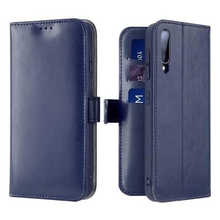 Dux Ducis Kado kabura etui portfel pokrowiec z klapką Samsung Galaxy A70 niebieski