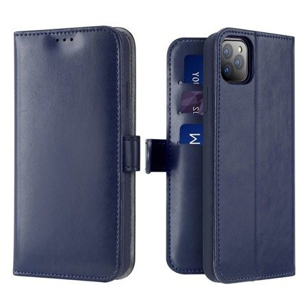 Dux Ducis Kado kabura etui portfel pokrowiec z klapką iPhone 11 Pro Max niebieski