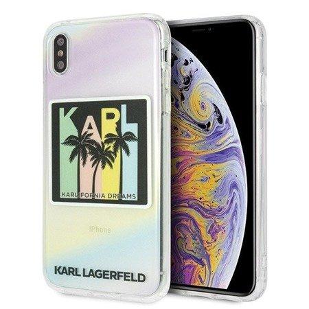 Etui Karl Lagerfeld KLHCI65IRKD iPhone Xs Max hardcase Kalifornia Dreams