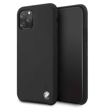 Etui hardcase BMW BMHCN58SILBK iPhone 11 Pro czarny/black Silicone