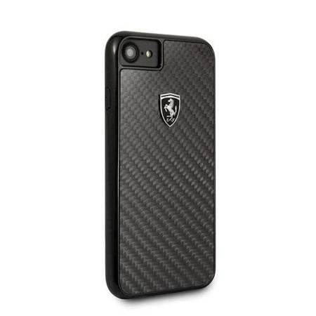 Ferrari Hardcase FEHCAHCI8BK iPhone 7/8 black/czarny Carbon Heritage