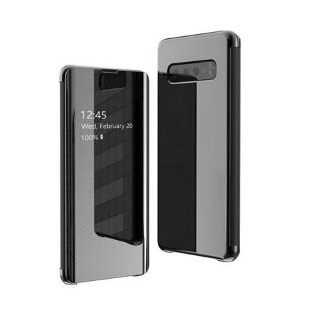 Flip View futerał etui z klapką Samsung Galaxy S10 Plus czarny