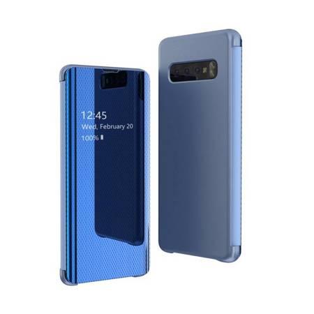 Flip View futerał etui z klapką Samsung Galaxy S10 Plus niebieski