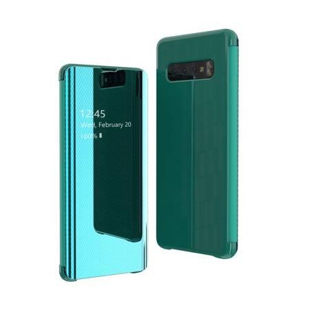 Flip View futerał etui z klapką Samsung Galaxy S10 Plus zielony