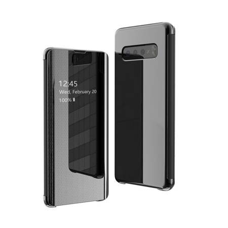 Flip View futerał etui z klapką Samsung Galaxy S10e czarny