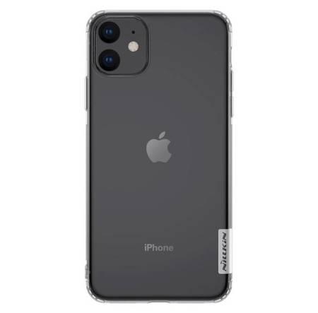 Nillkin Nature żelowe etui pokrowiec ultra slim iPhone 11 przezroczysty