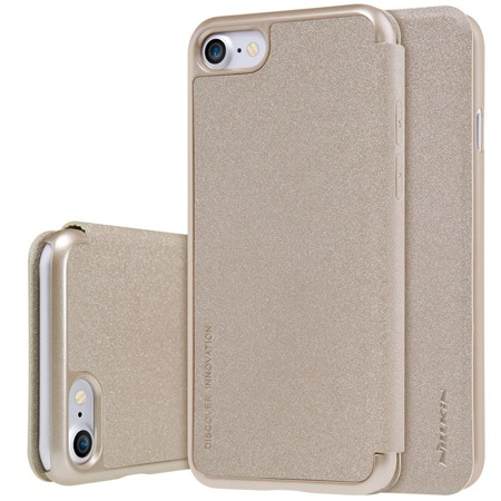 Nillkin Sparkle Series kabura etui iPhone 8 / 7 złota