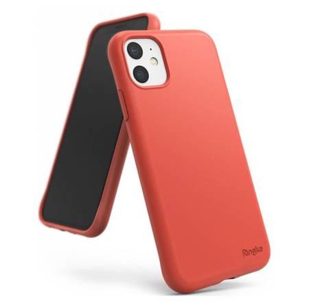 Ringke Air S ultracienkie żelowe etui pokrowiec iPhone 11 koralowy (ADAP0014)