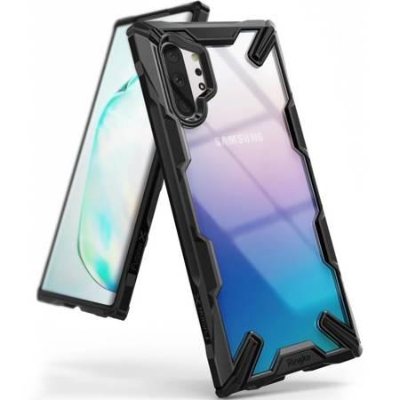 Ringke Fusion X etui pancerny pokrowiec z ramką Samsung Galaxy Note 10 Plus czarny (FUSG0029)