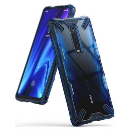 Ringke Fusion X etui pancerny pokrowiec z ramką Xiaomi Mi 9T Pro / Mi 9T / Redmi K20 Pro / Redmi K20 niebieski (FXXI0004)