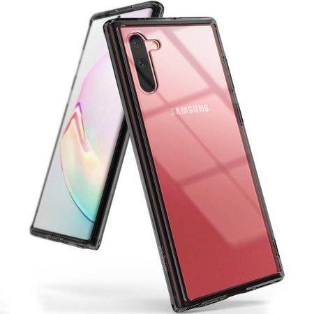 Ringke Fusion etui pokrowiec z żelową ramką Samsung Galaxy Note 10 Plus czarny (FSSG0070)