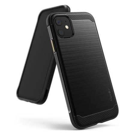 Ringke Onyx wytrzymałe etui pokrowiec iPhone 11 czarny (OXAP0018)