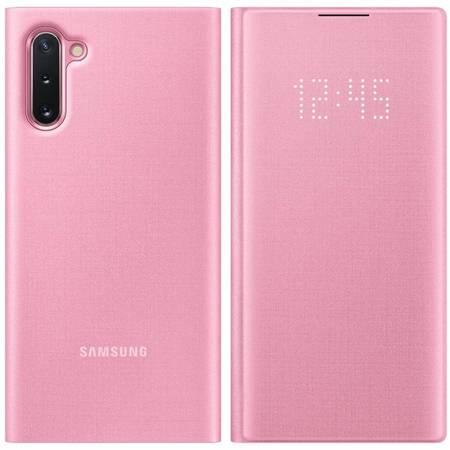 Samsung LED View Cover etui pokrowiec z wyświetlaczem LED Samsung Galaxy Note 10 różowy (EF-NN970PPEGWW)