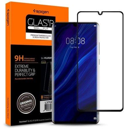 Szkło Hartowane Spigen Glas.Tr Slim Huawei P30 Pro Black