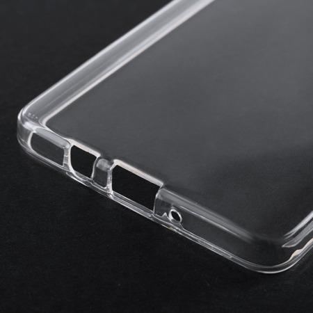 Żelowy pokrowiec etui Clear Gel 1.0mm Huawei P10 Lite przezroczyste