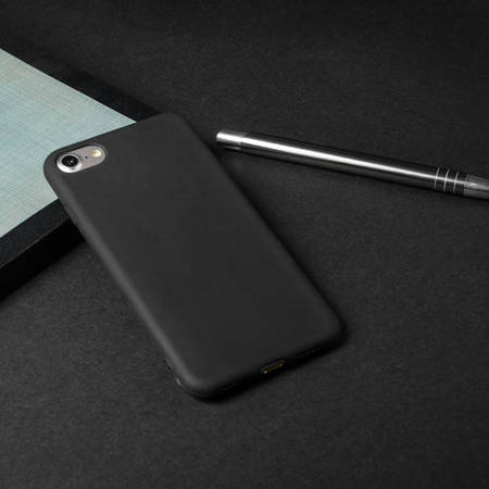 Żelowy pokrowiec etui Soft Matt Xiaomi Redmi 4A czarny