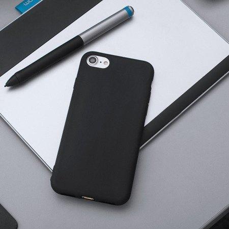 Żelowy pokrowiec etui Soft Matt iPhone 8 Plus / 7 Plus czarny